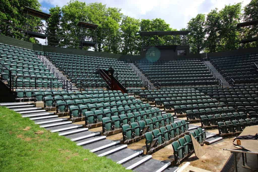 Checker Plate Stairs - Regents Open Air Theatre | Chequer Plate Direct 4
