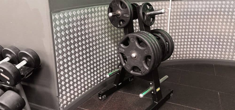 Better Gym Wall Cladding | Chequer Plate Direct