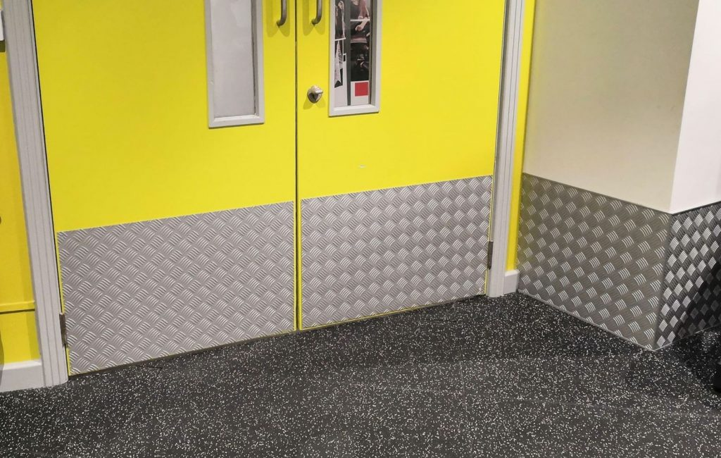Door Kick Plates - Benefits and Advantages | Chequer Plate Direct
